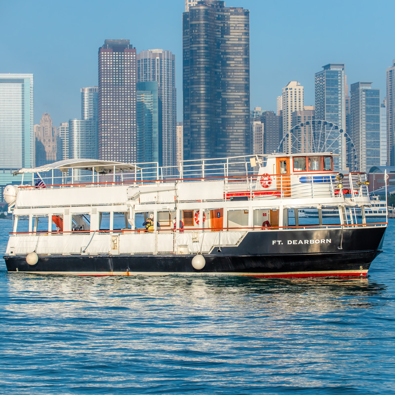 Ft. Dearborn - Chicago Line Cruises